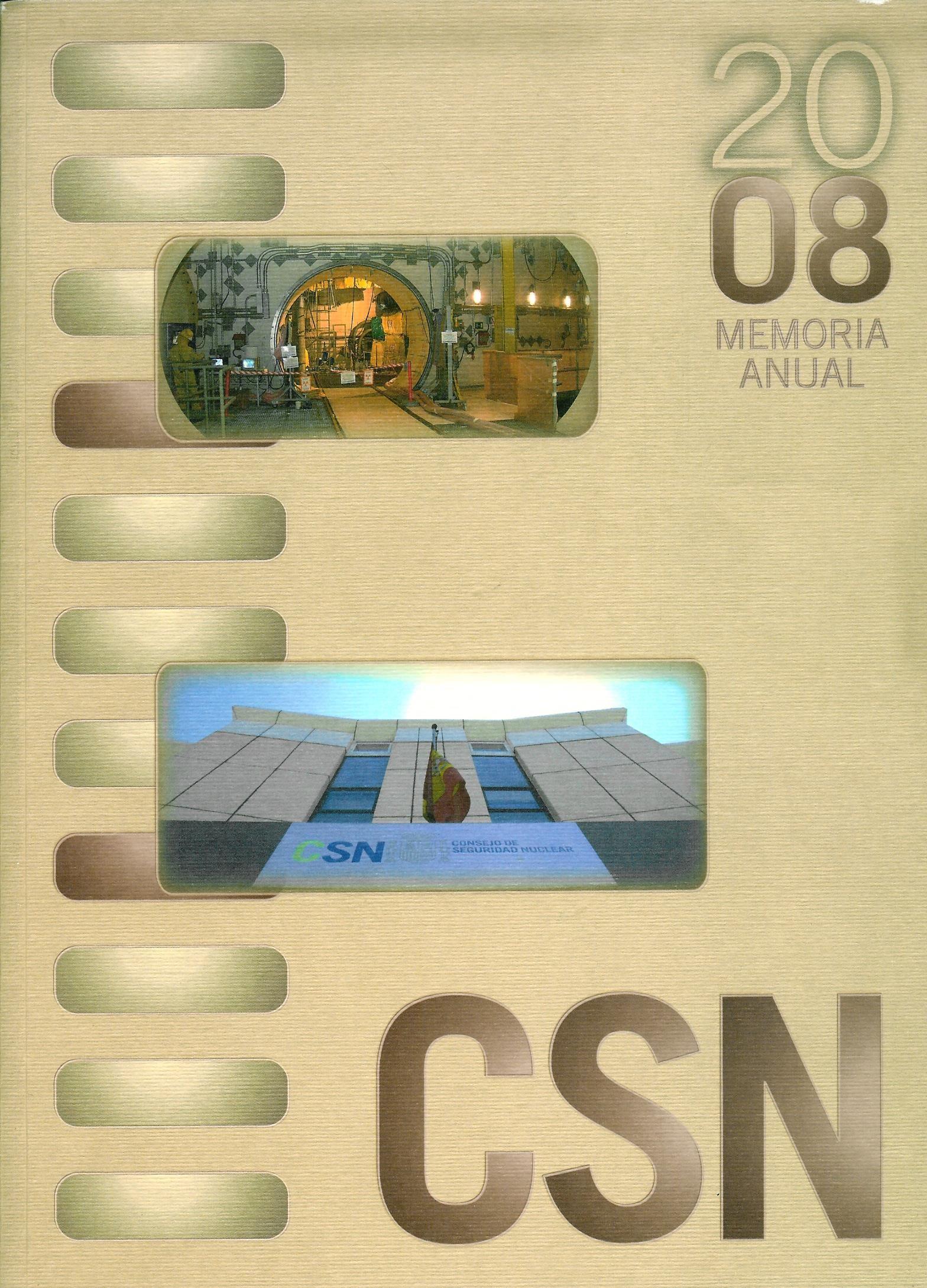 Memoria Anual 2008 CSN