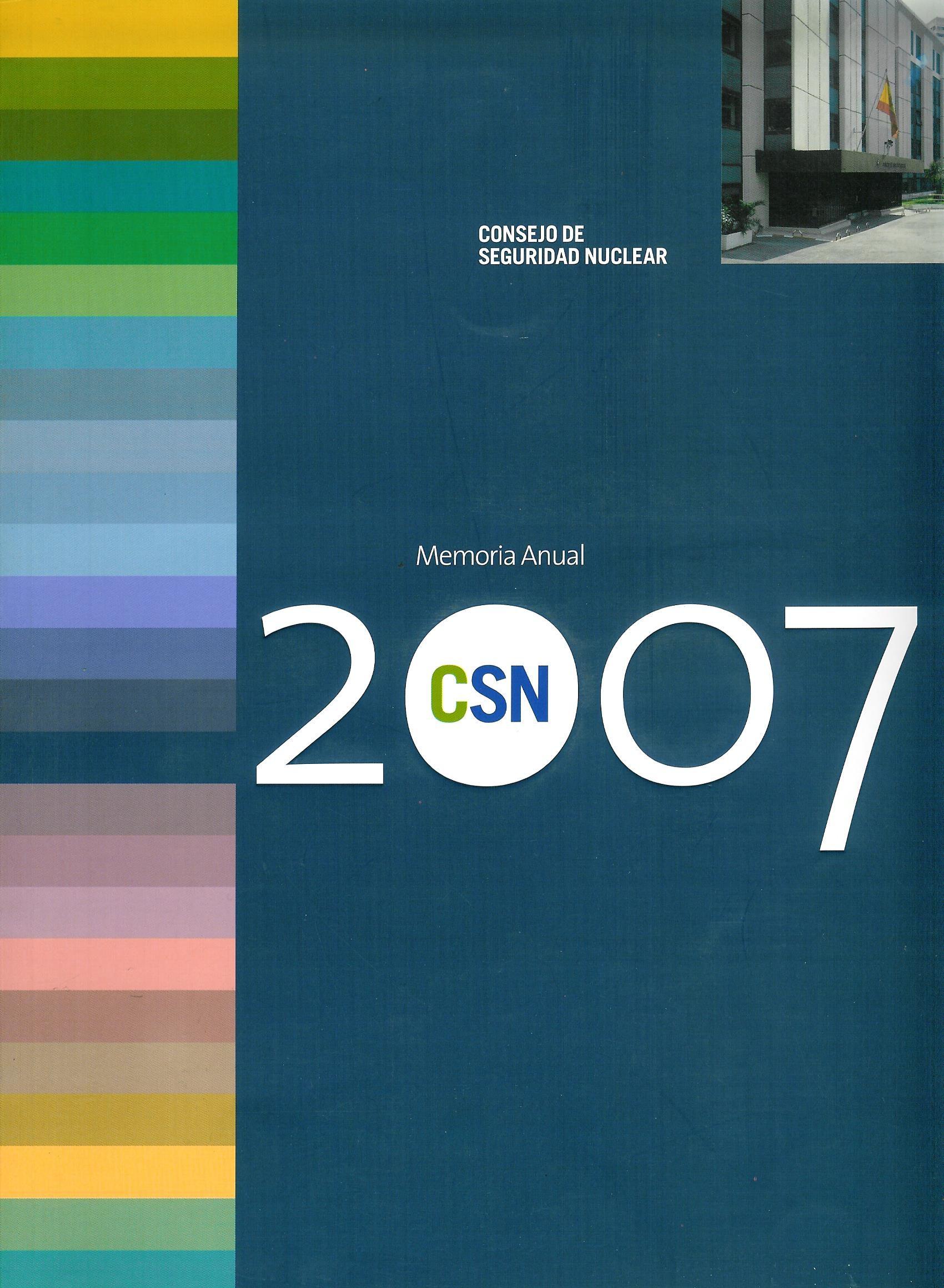 Memoria Anual 2007 CSN