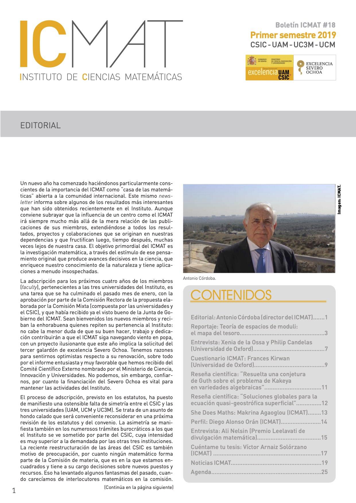 Boletín18 20191S espanol